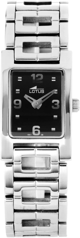 Reloj LOTUS 15611-5 Negro Mujer