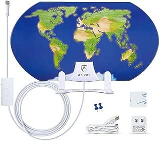 World Map AT-122B Indoor HDTV Antenna