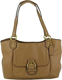 F24961 Campbell Women's Handbag Leather Purse - Camel