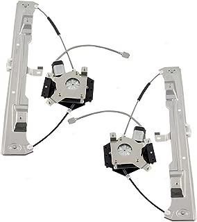 Rear Power Window Regulators & Motors Assemblies Driver and Passenger Replacements for Mercury Ford Pickup Truck 6L2Z7827001BA 6L2Z7827000BA