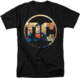 Superman DC Comics Logo T Shirt & Stickers
