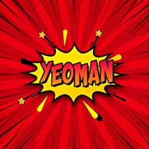 Yeoman: Draw Your Own Comic Super Hero Adventures with this Personalized Vintage Theme Birthday Gift Pop Art Blank Comic S...