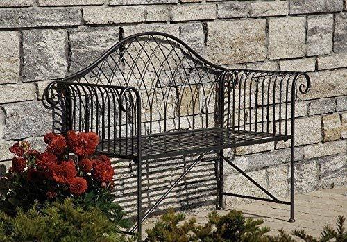 Linoows Nostalgia tuinbank romantiek, tuinbank in landelijke stijl, ijzer, zink