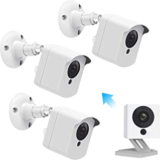 Wyze Cam Wall Mount, Caremoo Weatherproof Protective Cover with Adjustable Mount for Wyze Cam V2 Camera, Indoor/Outdoor Us...