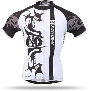 Pinjeer Quick Dry 2018 Summer Digital Printing Men Ciclismo Jersey Ropa Transpirable Deportes al Aire Libre MTB Bicycle Riding Cloth Blanco Jersey Hombres Camiseta de Manga Corta