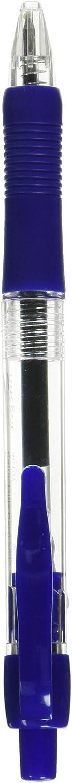 Gel Pen,Retractable,Permanent,.5mm Point,azul Barrel Ink, Sold as 1 Dozen