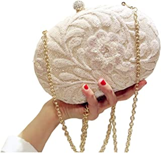 56dc39f018 Amazon.com  Ivory - Evening Bags   Clutches   Evening Bags  Clothing ...