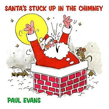 Santa's Stuck up in the Chimney