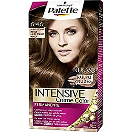 Palette Intense - Tono 6.46 Rubio Oscuro Mocca- 2 uds ...