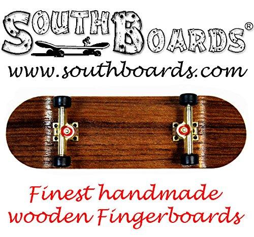 Unbekannt EDEL Fingerskateboard Oak/GO/SWZ SOUTHBOARDS® Handmade Wood Fingerboard Echtholz