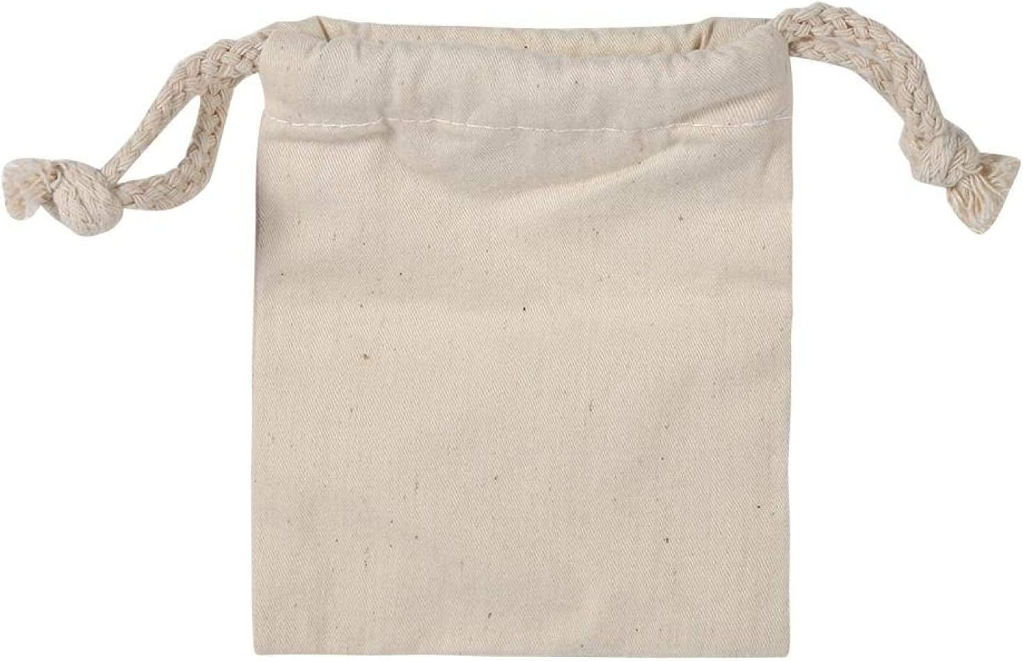 overseas SanZHONGsd Muslin OFFicial Bags with Drawstrings- Reusable f Produce