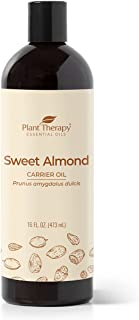 Plant Therapy Sweet Almond Oil - For Skin, Hair, Body, Face & Baby - Natural Moisturizer, Massage & Aromatherapy Carrier O...