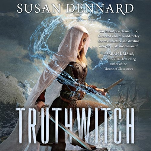 Truthwitch audiobook cover art