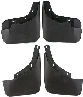 4pcs Front and Rear Mud Flaps Splash Guards Set for Audi Q7 2007-2015