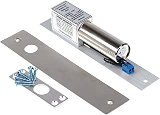 KKmoon elektrisk droppbult dörrlås DC 12 V magnetisk induktion auto deadbolt för hemsäkerhet åtkomstkontrollsystem Shape 1