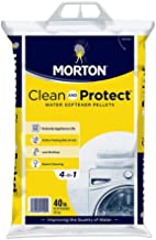 Morton Clean and Protect II Water Softening Pellets, 40-Pound, 40 Pound