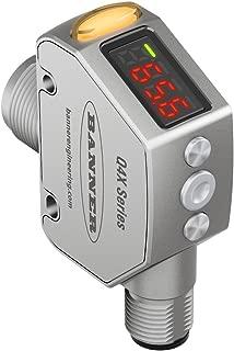 Laser Sensor, Q4X Series, Adjustable, 25 mm to 300 mm, NPN/PNP, 10 to 30 Vdc