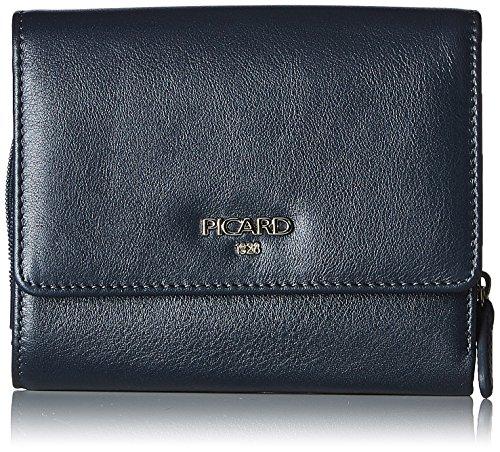 Picard Damen Bingo Geldbörse, Blau (Ozean), 3.5x11x13 cm