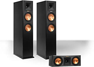 Klipsch RP-260F Reference Premiere Floorstanding Speaker Package with RP-250C Reference Premiere Center Channel Speaker (Ebony)
