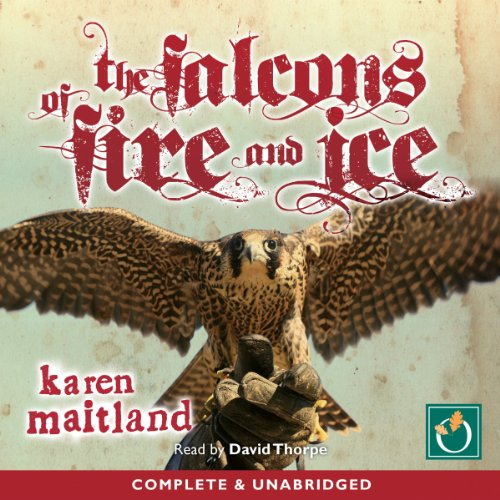 The Falcons of Fire and Ice audiobook cover art