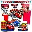 Disney Cars Party Supplies Ultimate Set  134 Pcs