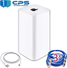Airport Extreme (6th Generation) + 3 Ethernet Cables + 1 Lightning-USB + 1 Year Warranty