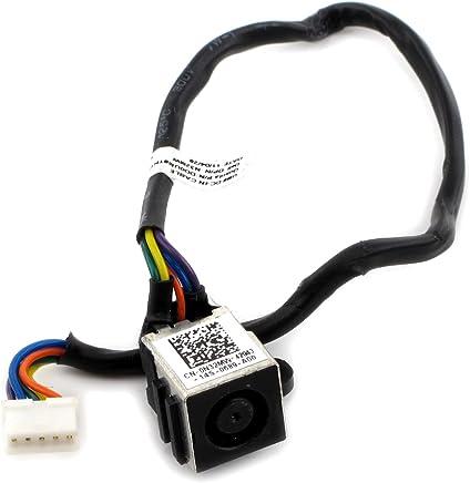 Ac DC 电源插座电缆插头线束 戴尔 Inspiron 14r N4010 N32mw