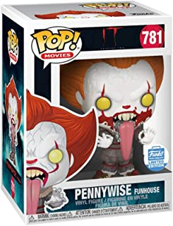 It Chapter Two POP! Movies Pennywise 781 Blood Splatter Funhouse Vinyl Figure Limited Edition Exclusive