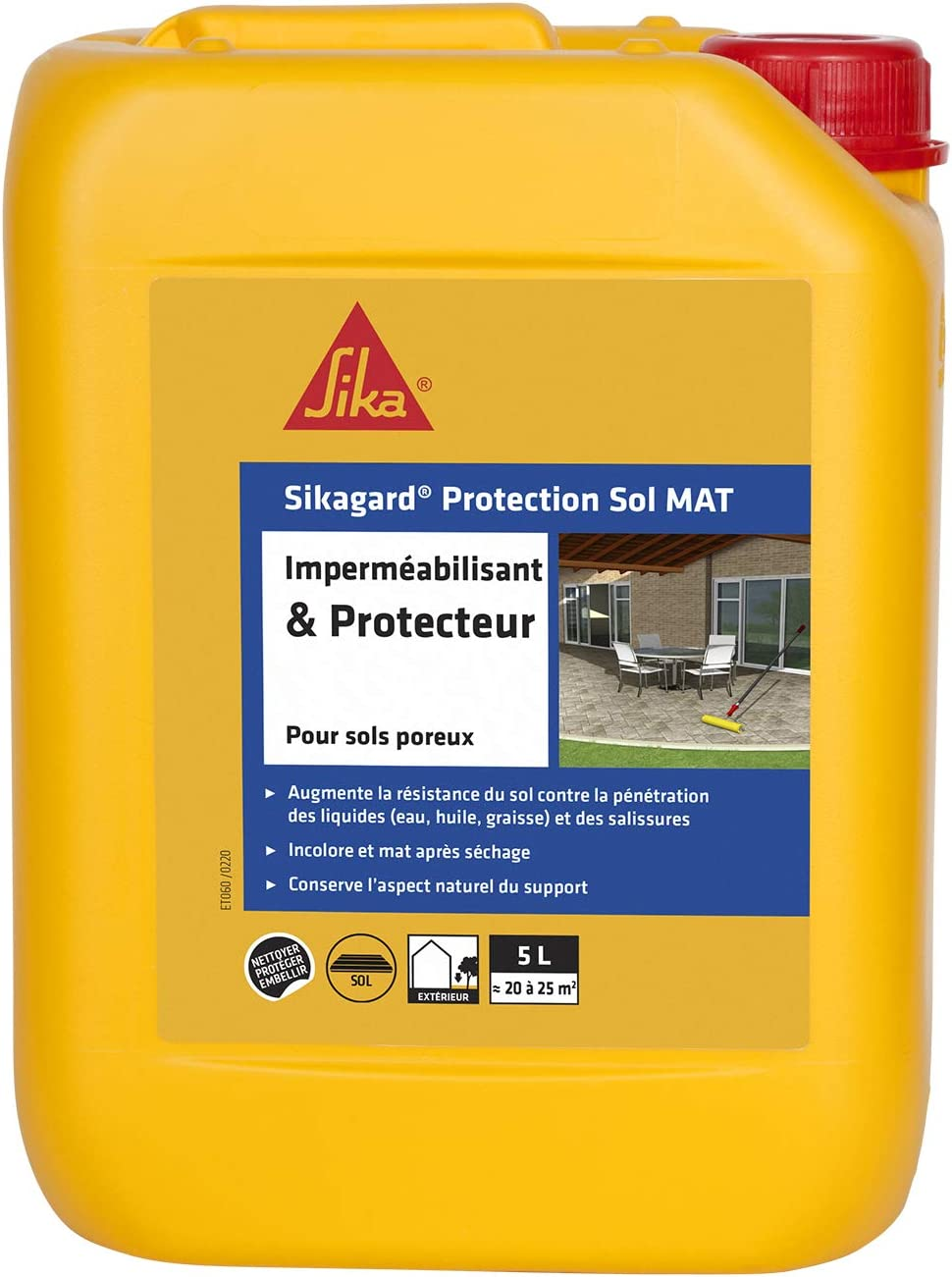 SIKAGARD protección de suelo, Blanco, 460505