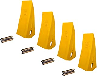 4 - Backhoe/Skid Bucket Tooth with pins - 230HX, 230HXL, 23, 230, 230S,