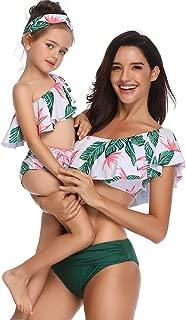 FeelinGirl Madre e Hija Bikini de 2 Piezas Volantes