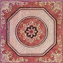 Home Dynamix 807 Dynamix Vinyl Tile, 12 by 12-Inch, Brown, Box of 20