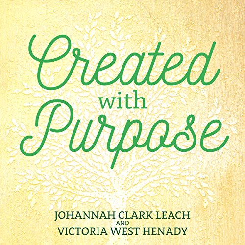Created with Purpose audiobook cover art