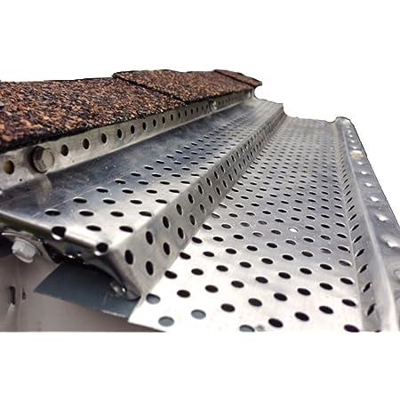 50 Panels x 4.00 Each. 200 feet Shur Flo X Leaf Guard Gutter Protector for 6 K-Style Gutters Mill Finish Aluminum