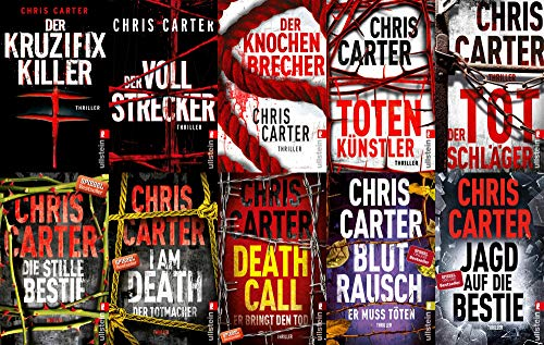 Set Hunter-und-Garcia-Thriller Band 1-10 plus 1 exklusives Postkartenset