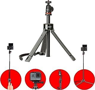 Joby Telepod Lightweight; Strong TelePod Pro Tripod, Extendable Monopod, Selfie Stick with Ball Head, Mirrorless, 360, Act...