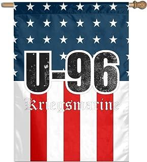 AIHVI American USA US Flag WW2 U-Boat - U-96 Kriegsmarine (Distressed) Flag 27
