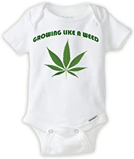 weed baby clothes