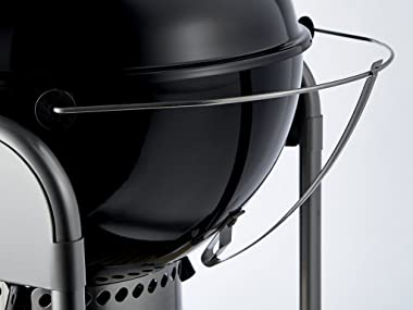 Weber 15501001 Performer Deluxe Charcoal Grill, 22-Inch, Touch-N-Go Gas Ignition System, Black