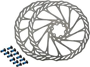 Gymforward HemeraPhit 2pcs Mountain Bike Rotors G3 Bicycle Brake Disc Stainless Steel Rotors with Free 12 Bolts