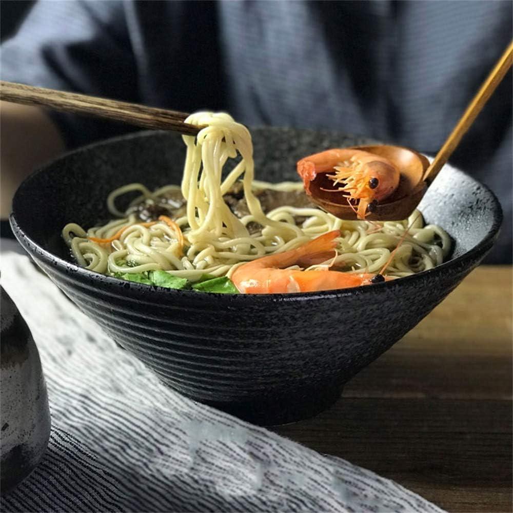 security ZUQIEE Large Soup Ramen Noodle Over item handling ☆ Bowl Vegetable Fruit Retro Salad
