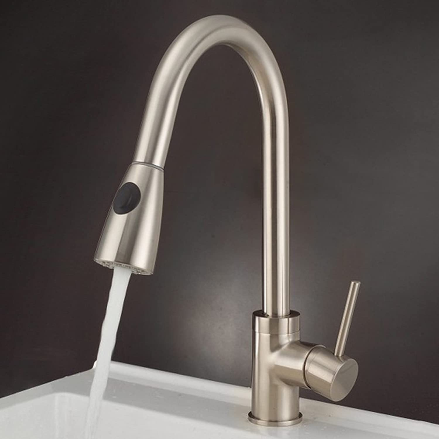 Modern Kitchen Sink Mixer Tap ,Single Lever Kitchen Tap Hot And Cold Water redation UK Standard Fittings Quality Warranty Provided