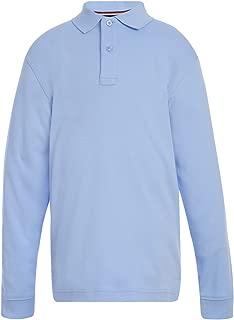Long Sleeve Interlock Co-ed Kids Polo Shirt, Boys & Girls...