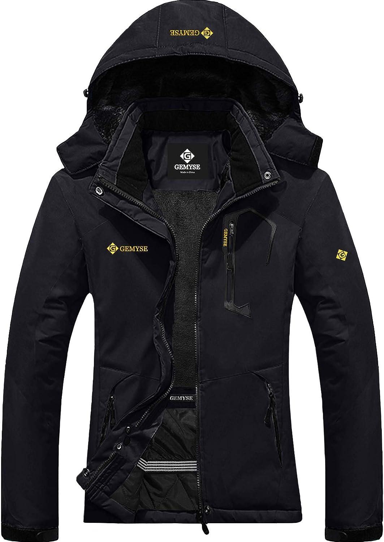 GEMYSE Women's Arlington Mall Mountain Waterproof Ski List price Jacket Snow Winter Windpr