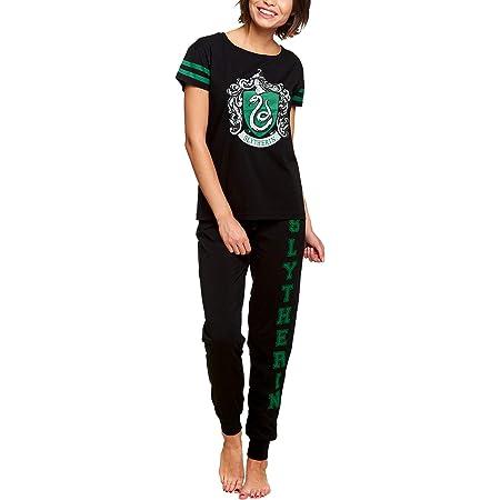 HARRY POTTER Blason Pyjama pour Femmes 2pcs Elven Forest Cotton