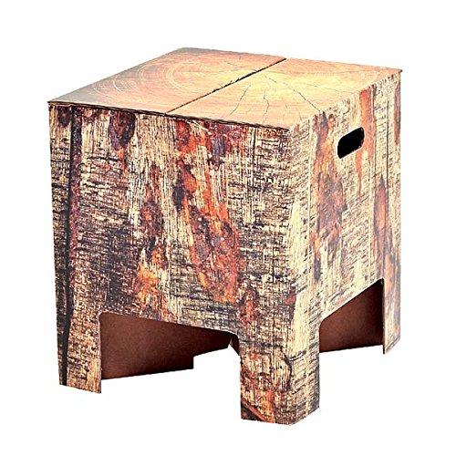 Dutch Design stoel kruk in boomstompdesign
