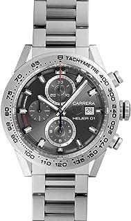 [タグホイヤー] TAG HEUER 腕時計 CAR208Z.BF0719 カレラ キャリバーホイヤー01 クロノグラフ 43ミリ 新品 [並行輸入品]