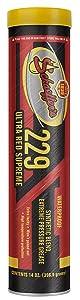 Schaeffer Manufacturing Co. 02292-029S Ultra Red Supreme Grease, NLGI #2, 14 oz.