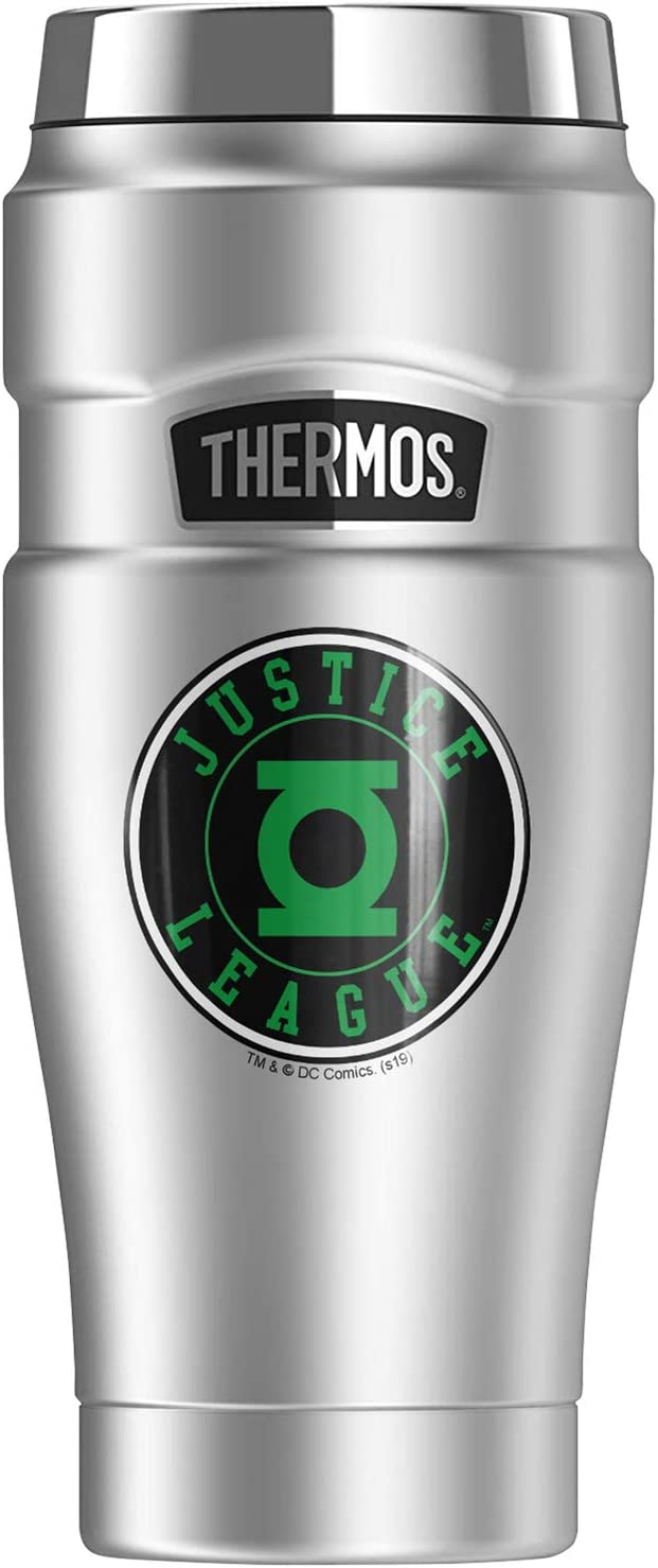 Green Lantern Athletic All items free shipping Logo KIN Popular shop is the lowest price challenge STAINLESS THERMOS