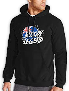 Lazarbeam Man Cool Hooded Pocket Sweater Black